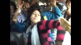 Dance of HSC Student in Bus | Rajshahi College| Students Dance