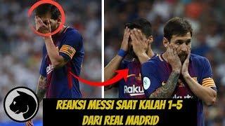 Coba LIHAT brayy!!!  apa  yang  dilakukan MESSI saat  BARCA kalah 1-5 dari Real Madrid