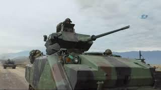 Tanklar Sloganlarla Afrin
