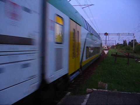 Pociąg przyspieszony Mazovia Warszawa Wschodnia Płock