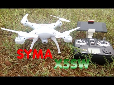 Xxx Mp4 Unboxing TEST Syma X5SW 1 RTF RC Quadcopter Camera WIFI FPV 3gp Sex