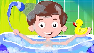 Bath Song | Nursery Rhymes For Kids And Childrens | Original Song From Zebra