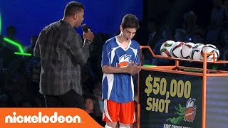 Kids Choice Sports 2016 | $50,000 Crossbar Challenge | Nick