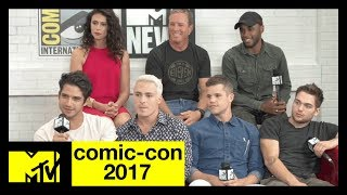 Teen Wolf Live Stream w/ Tyler Posey, Shelley Hennig & More! | Comic-Con 2017 | MTV