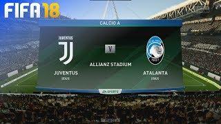 FIFA 18 - Juventus vs. Atalanta Bergamo @ Allianz Stadium