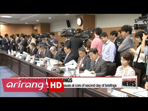 THAAD and non-regular worker issues at core of second day of briefings