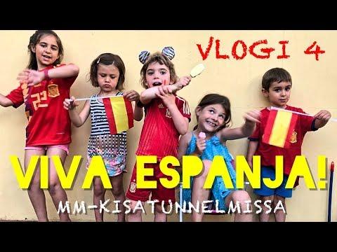 MM-KISATUNNELMISSA JA BAILAMOS I Los Fernández Espanjassa vlogi 4