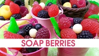 DIY Soap berries - How to make soap embeds - Soap making