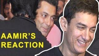 Aamir Khan's reaction on Salman - Shahrukh's friendship