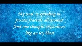 Let It Go - Frozen lyrics (FULL SONG)