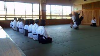 2nd Dan Aikido Kihon in Japan