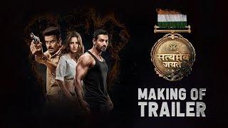 Making of The Trailer: Satyameva Jayate |John Abraham, Manoj Bajpayee,Amruta Khanvilkar Aisha Sharma