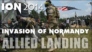 ION Paintball 2014 Allied Landing - Invasion of Normandy at Skirmish in Jim Thorpe PA