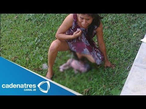Indígena mexicana da a luz afuera de hospital