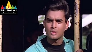 Sakhi Movie Madhavan and Shalini Train Scene | Madhavan, Shalini | Sri Balaji Video