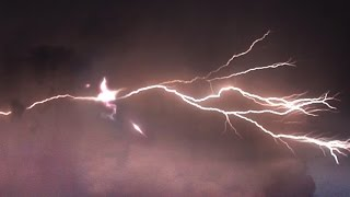 Stunning UFOs hit by Lightning! Multiple UFOs destroyed & Spy UFO captured, Sept 2016