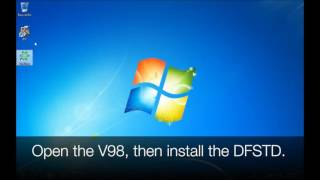 VCM II V98 install and update the software