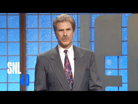 Celebrity Jeopardy SNL 40th Anniversary Special