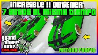 INCREIBLE !! OBTENER 7 AUTOS AL MISMO TIEMPO GRATIS
