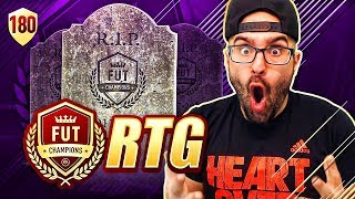 OMG THE END! RIP THE WEEKEND LEAGUE! - FIFA 18 Road To Fut Champions #180 RTG