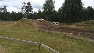 Oscar Brix - Motocross træningslejr i Sverige 2