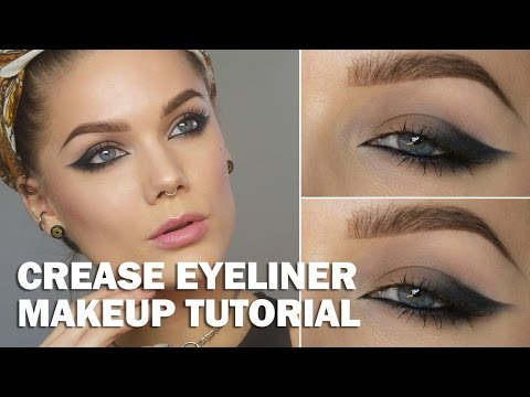 Crease Eyeliner (with subs) - Linda Hallberg Makeup Tutorials