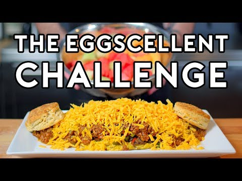 Binging with Babish 3 Million Subscriber Special The Eggscellent Challenge from Regular Show