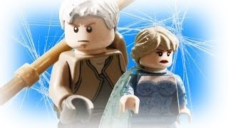 Elsa vs Jack Frost (Jelsa) Frozen vs The Guardians LEGO