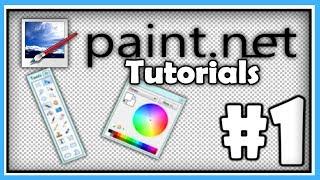 PAINT.NET TUTORIALS - Part 1 - Mastering the Basics [HD]