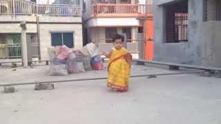 Tanisha Hasan Annie's First Step in Bangla Saree