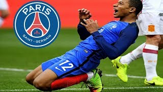 EM'BAPPE: move to Paris Saint-Germain/Goal/skills