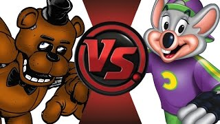 FREDDY FAZBEAR vs CHUCK E CHEESE! Cartoon Fight Club Episode 22