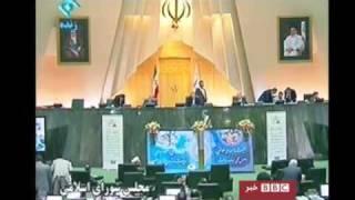 BBC Report - Iran Tehran Medical & Science Student Protest 2 Nov 010