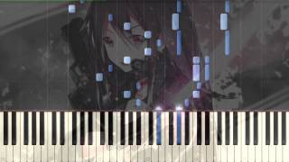 [Sword art online 2] ED 3 Shirushi Piano Synthesia Tutorial