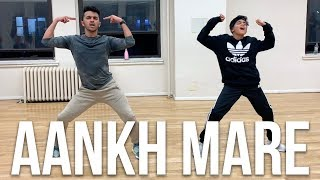 SIMMBA: AANKH MARE | Rohit Gijare Choreography | Ranveer Singh, Sara Ali Khan