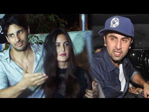 Sidharth Malhotra SAVES Katrina Kaif from Ranbir Kapoor's questions at Baar Baar Dekho Wrap party