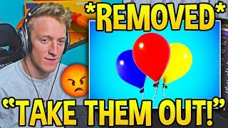 Tfue *DEMANDS* BALLOONS TO BE VAULTED AFTER THIS..! - Fortnite Moments
