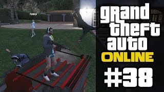 GTA ONLINE #38 - Autohaufen-Explosion Teil 1 (mit Pan, Curry & 616) [HD+] | Let's Play GTA Online