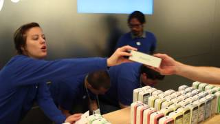 iPhone 5S Launch Day @ Apple Store Temecula