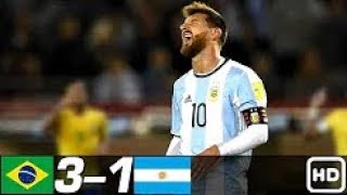 Brazil vs Argentina 3-1 -  All Goals & Extended Highlights RÉSUMÉ & GOLES ( Last Match ) HD