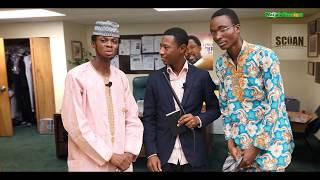 President Buhari Runs to Synagougue Prophet T.B Joshua for Healing Deliverance