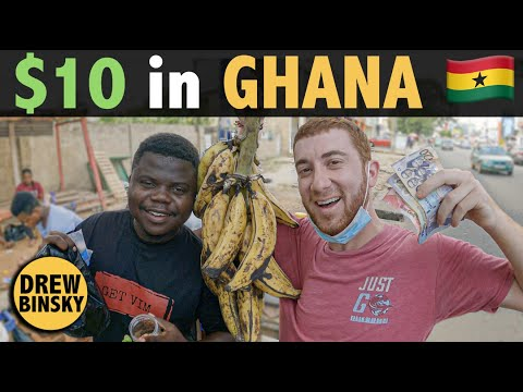 What Can 10 Get in GHANA my 192nd country