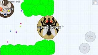 AGARIO MOBILE WE ARE NOOBS IN PARTY MODE!!! - Agario Mobile