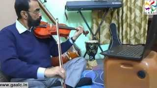 violin learn how to play hindi movie film songs on violin online training