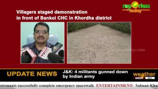 Newly constructed road cracked in Dhenkanal