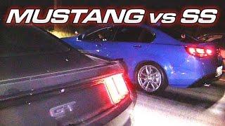 Chevy SS vs '15 Mustang GT