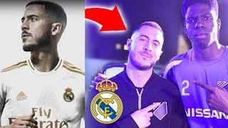 If Real Madrid Footballer Eden Hazard Wins Soccer Challenge I Lose $1000