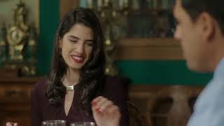 مسلسل ليالي أوجيني - عايدة مُصرة تحرج كريمة  و رد فعل غريب من فريد
