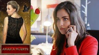 El Alacrán tiene en su poder a Eva |Amar a Muerte | Televisa