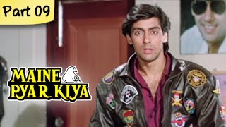 Maine Pyar Kiya (HD) - Part 09/13 - Blockbuster Romantic Hit Hindi Movie - Salman Khan, Bhagyashree
